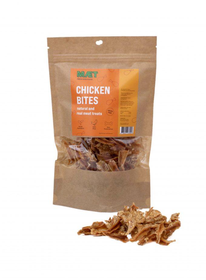 Kyllinge hundegodbider MÆT Chicken Bites