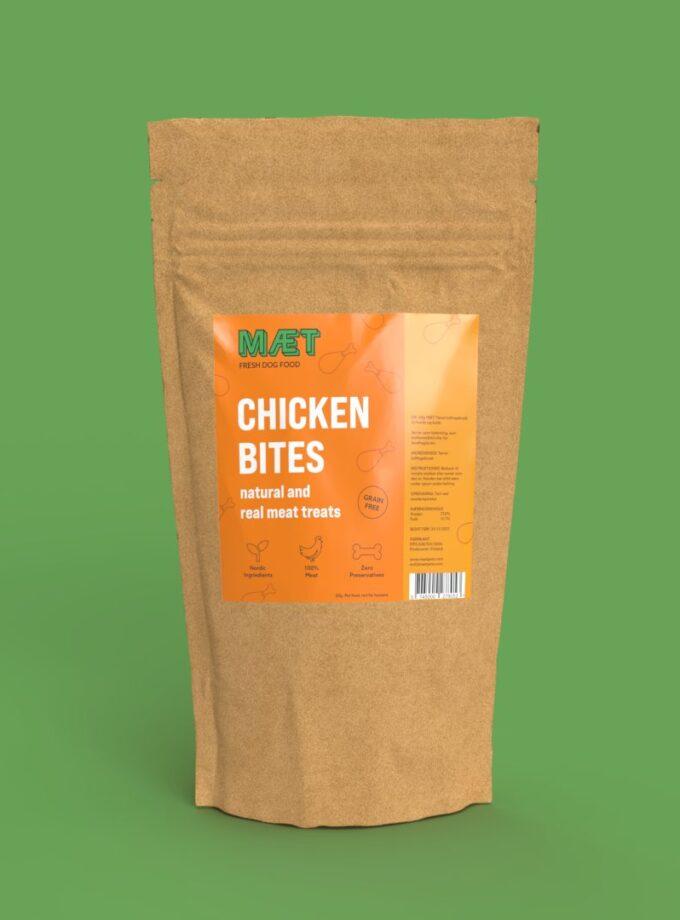 Hundegodbidder Chicken Bites MÆT Pets
